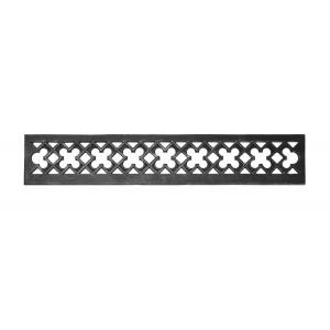 Декоративная панель с просечным орнаментом