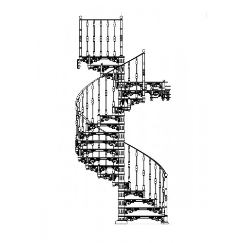 """Винтовая лестница """"Сигма"""""""