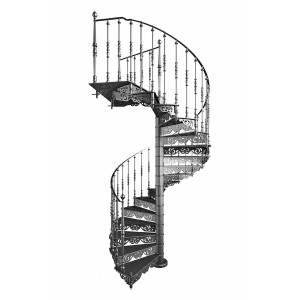 "Винтовая лестница ""Гарда"""
