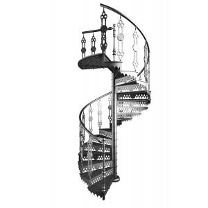 """Винтовая лестница """"Готика"""""""