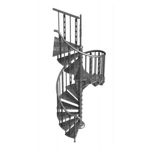 """Винтовая лестница """"Гранж 1"""""""