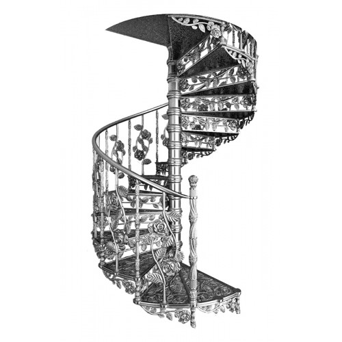 "Винтовая лестница ""Роуз"""